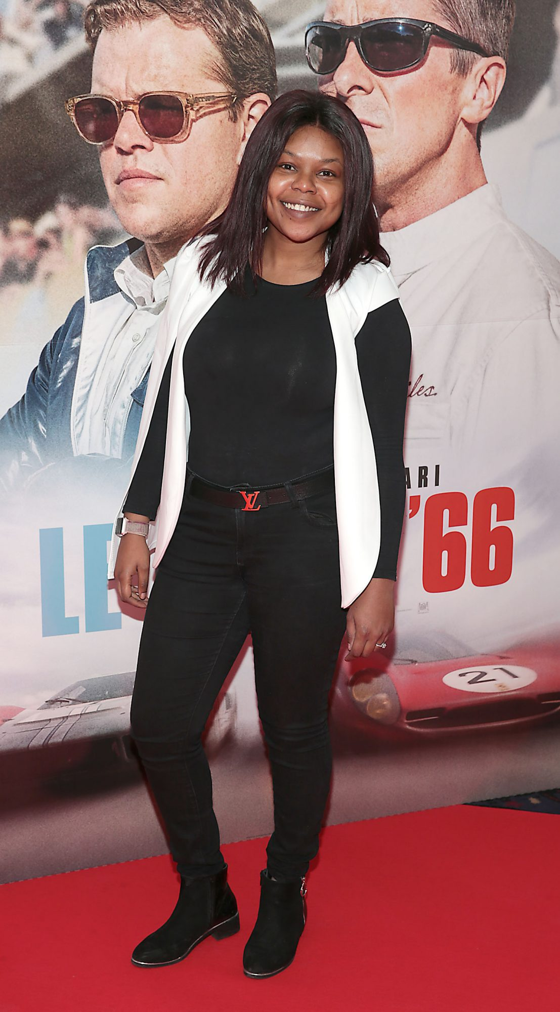Kaniza Madi pictured at the special preview screening of Le Mans '66 at Cineworld, Dublin. Photo: Brian McEvoy.