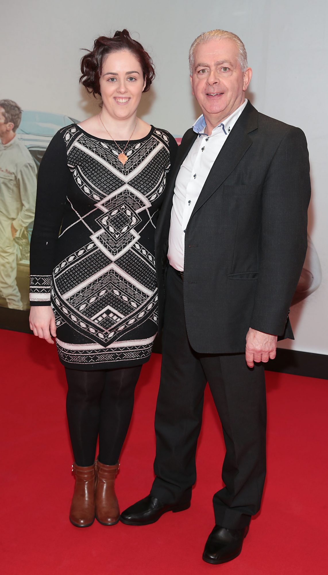 Sarah Eiffe and Gerry Eiffe pictured at the special preview screening of Le Mans '66 at Cineworld, Dublin. Photo: Brian McEvoy.