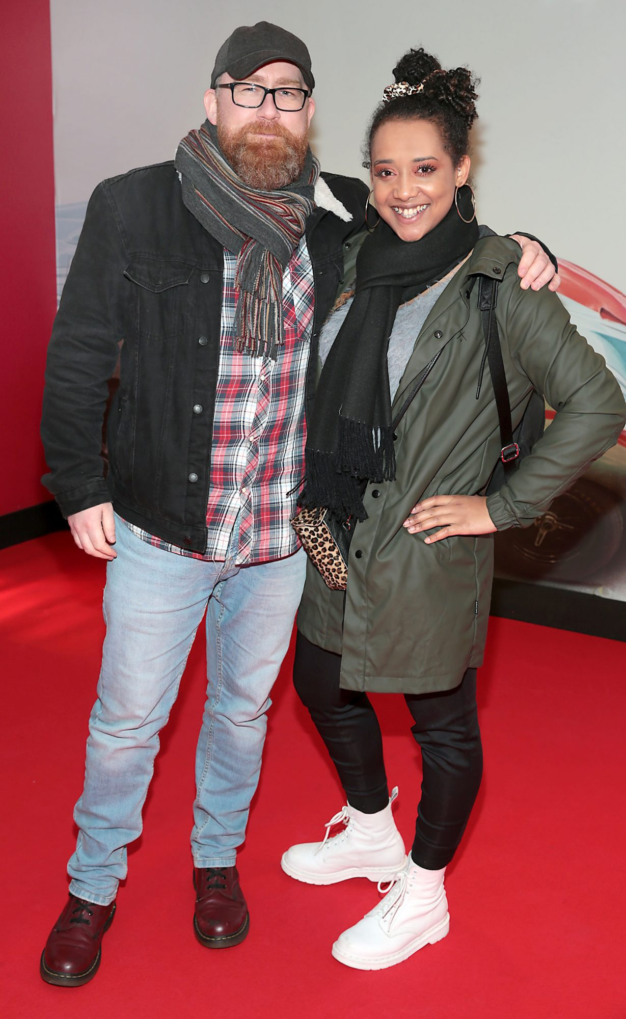Michael Walsh and Elvira Oredein pictured at the special preview screening of Le Mans '66 at Cineworld, Dublin. Photo: Brian McEvoy.