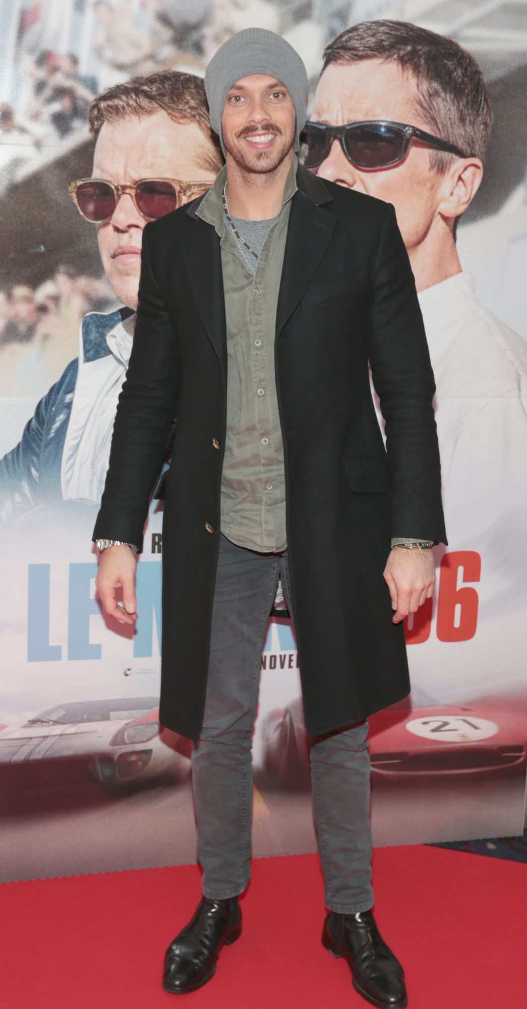 Carl Shaaban pictured at the special preview screening of Le Mans '66 at Cineworld, Dublin. Photo: Brian McEvoy.
