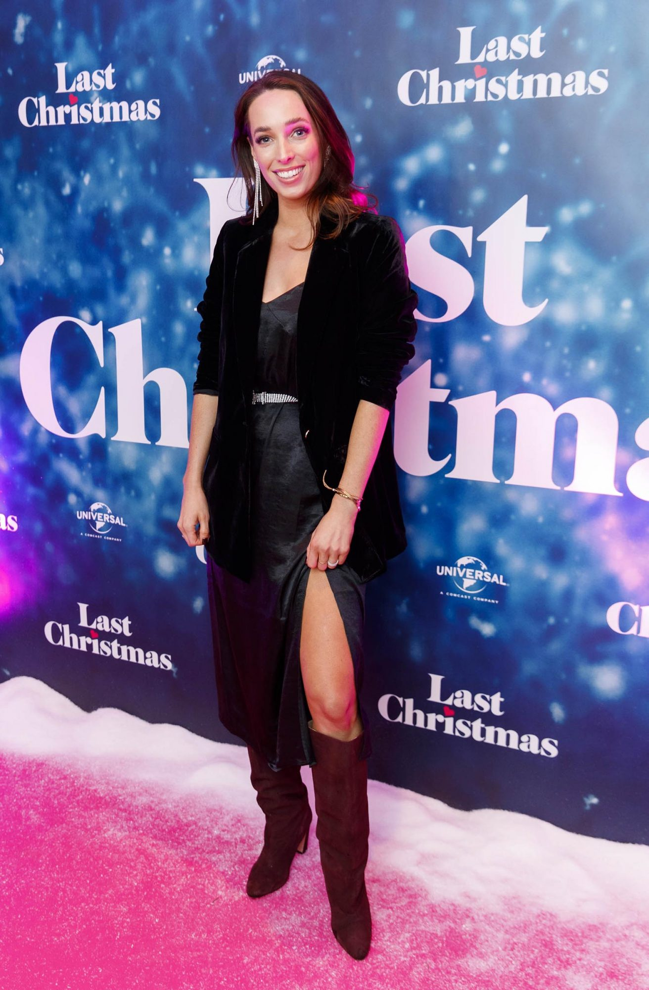 Ciara O Doherty pictured at the Universal Pictures Irish premiere screening of Last Christmas at the Light House Cinema, Dublin.  Picture: Andres Poveda