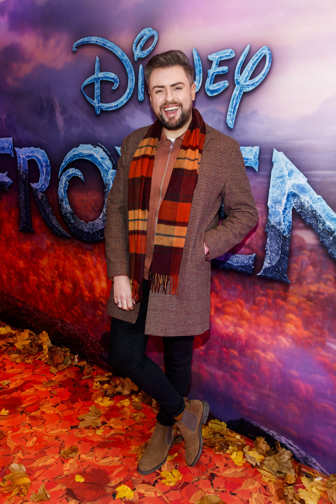 """James Patrice pictured at the special preview screening of Disney's """"Frozen 2"""" at the Light House Cinema, Dublin.  Picture Andres Poveda"""