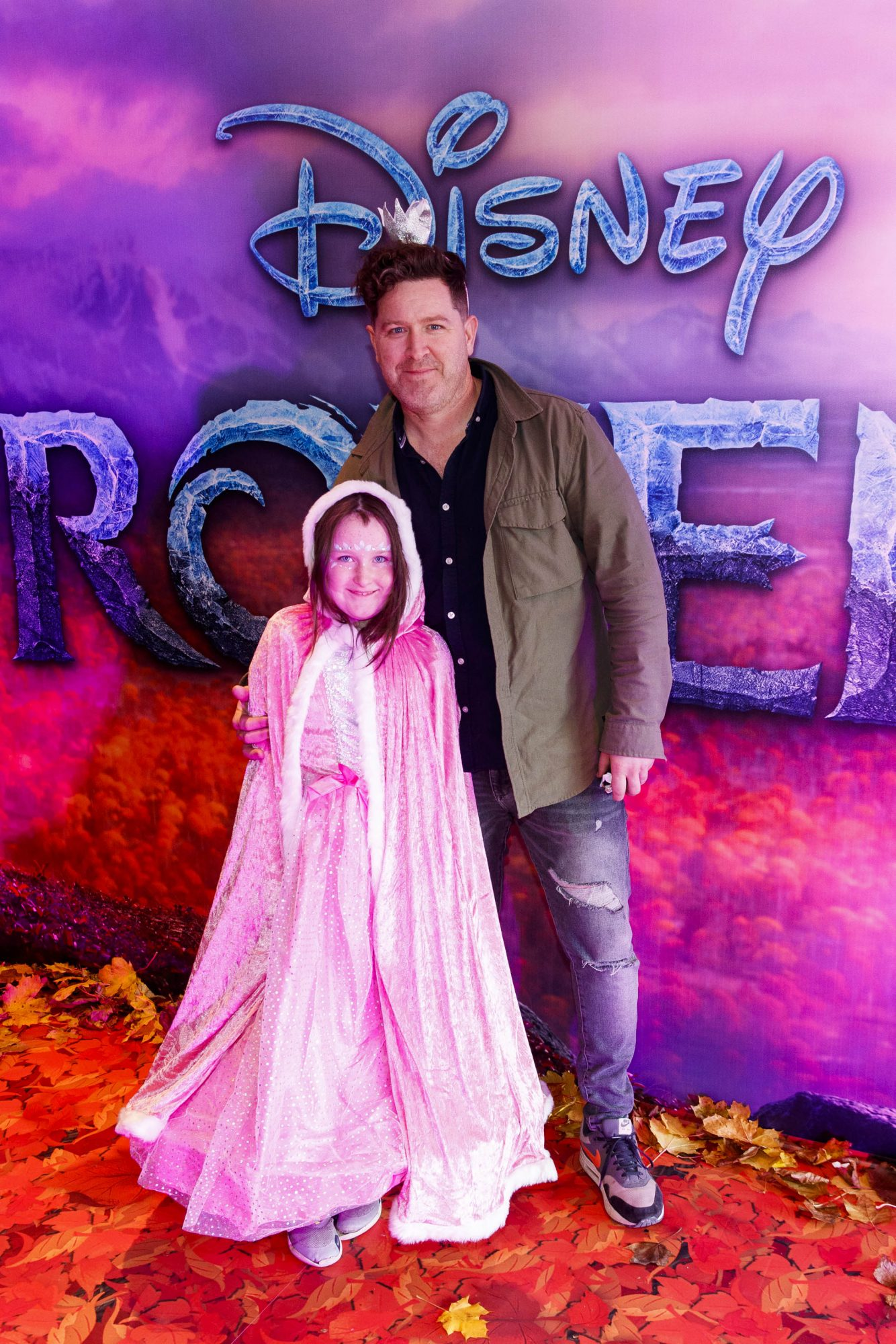 """Maclean Burke and daughter Bow-Belle pictured at the special preview screening of Disney's """"Frozen 2"""" at the Light House Cinema, Dublin.  Picture Andres Poveda"""