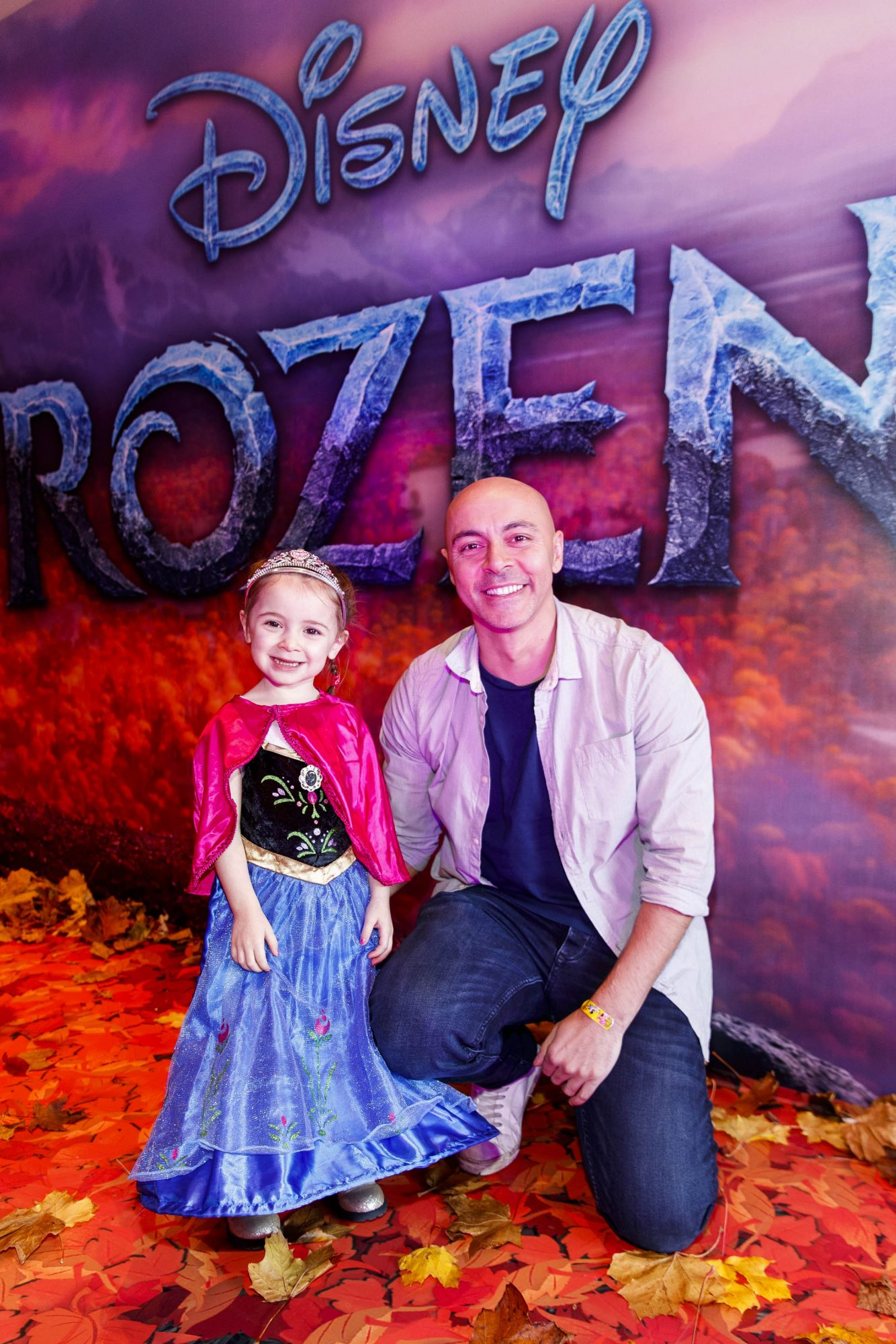"""Riya Shah and (3) Ray Shah pictured at the special preview screening of Disney's """"Frozen 2"""" at the Light House Cinema, Dublin.  Picture Andres Poveda"""
