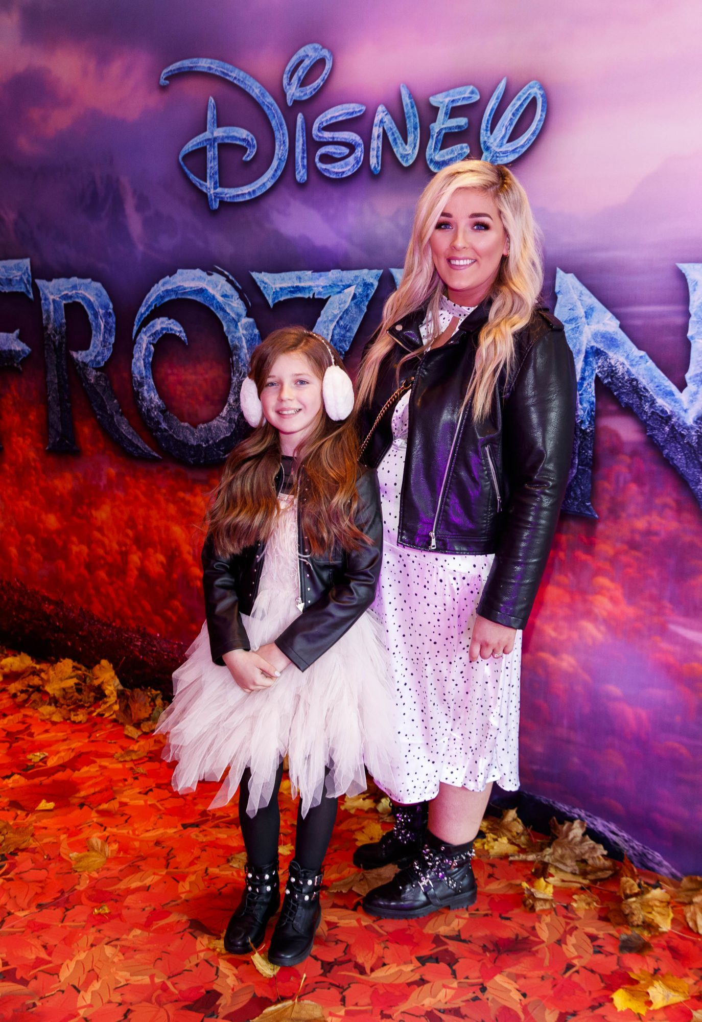 """Ella Mae (9) and Kelly Fitzsimmons pictured at the special preview screening of Disney's """"Frozen 2"""" at the Light House Cinema, Dublin.  Picture Andres Poveda"""