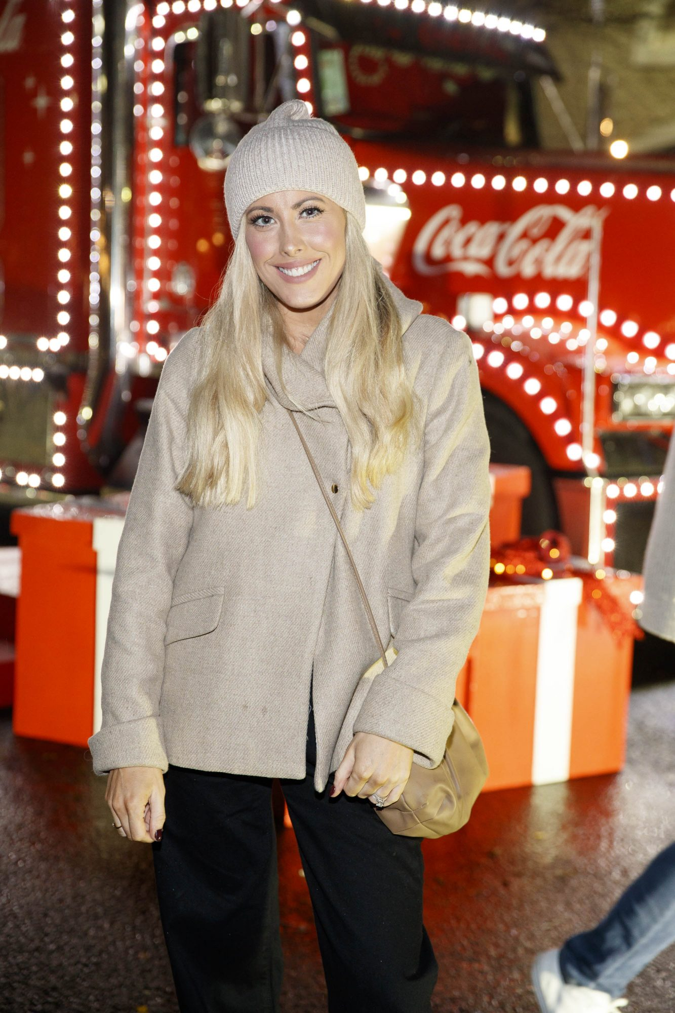 Lisa Jordan pictured at Coca-Cola's Christmas Truck Tour launch which took place Monday 25th November at the RDS, Dublin. Photo: Andres Poveda