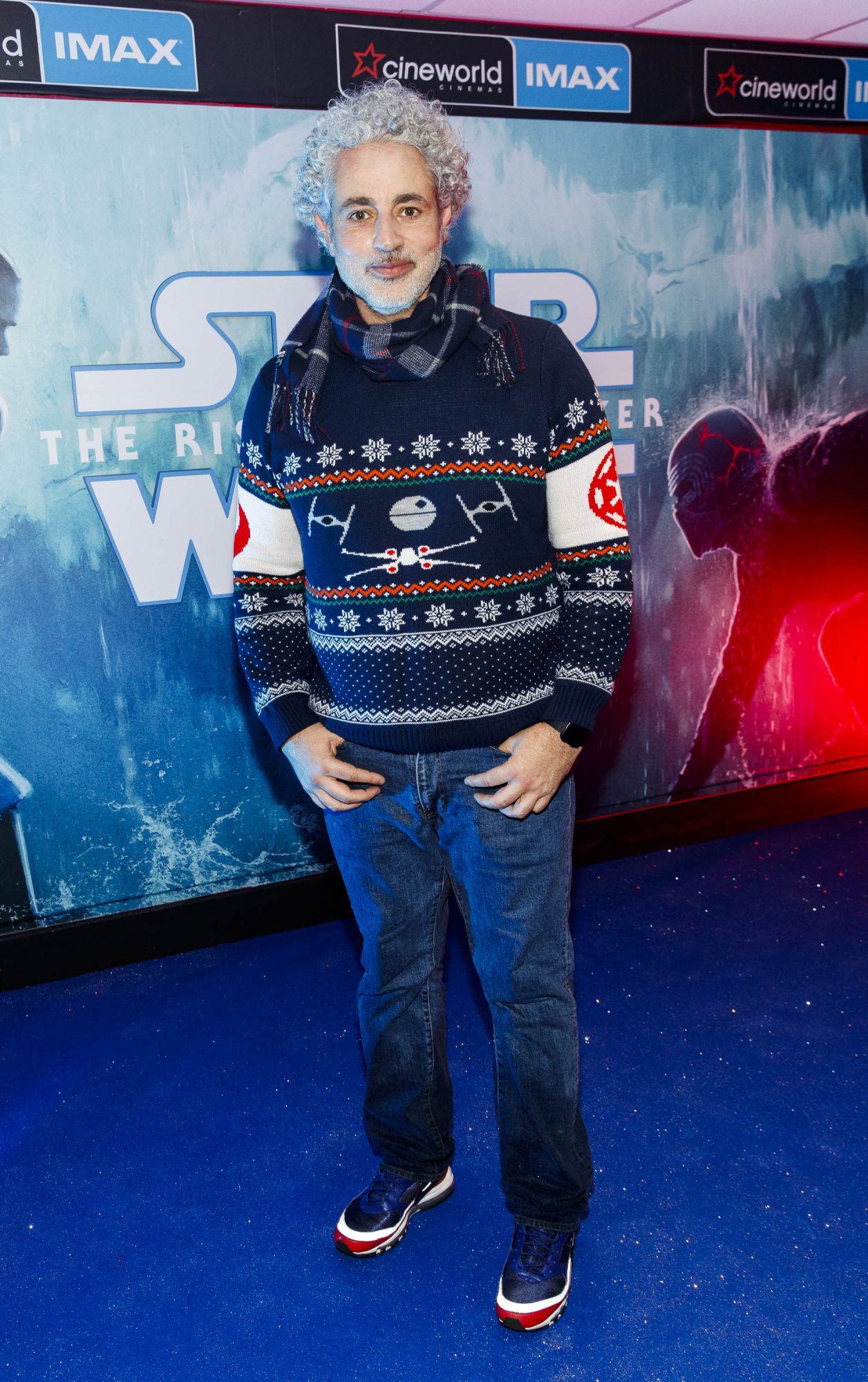 Baz Ashmawy pictured at the Irish premiere screening of Star Wars: The Rise of Skywalker at Cineworld, Dublin. Picture: Andres Poveda