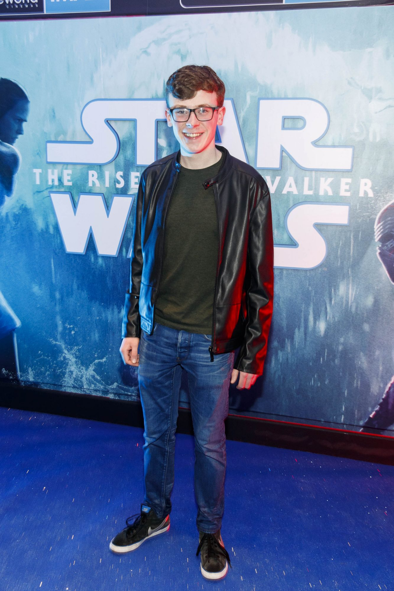 David Rawle pictured at the Irish premiere screening of Star Wars: The Rise of Skywalker at Cineworld, Dublin. Picture: Andres Poveda