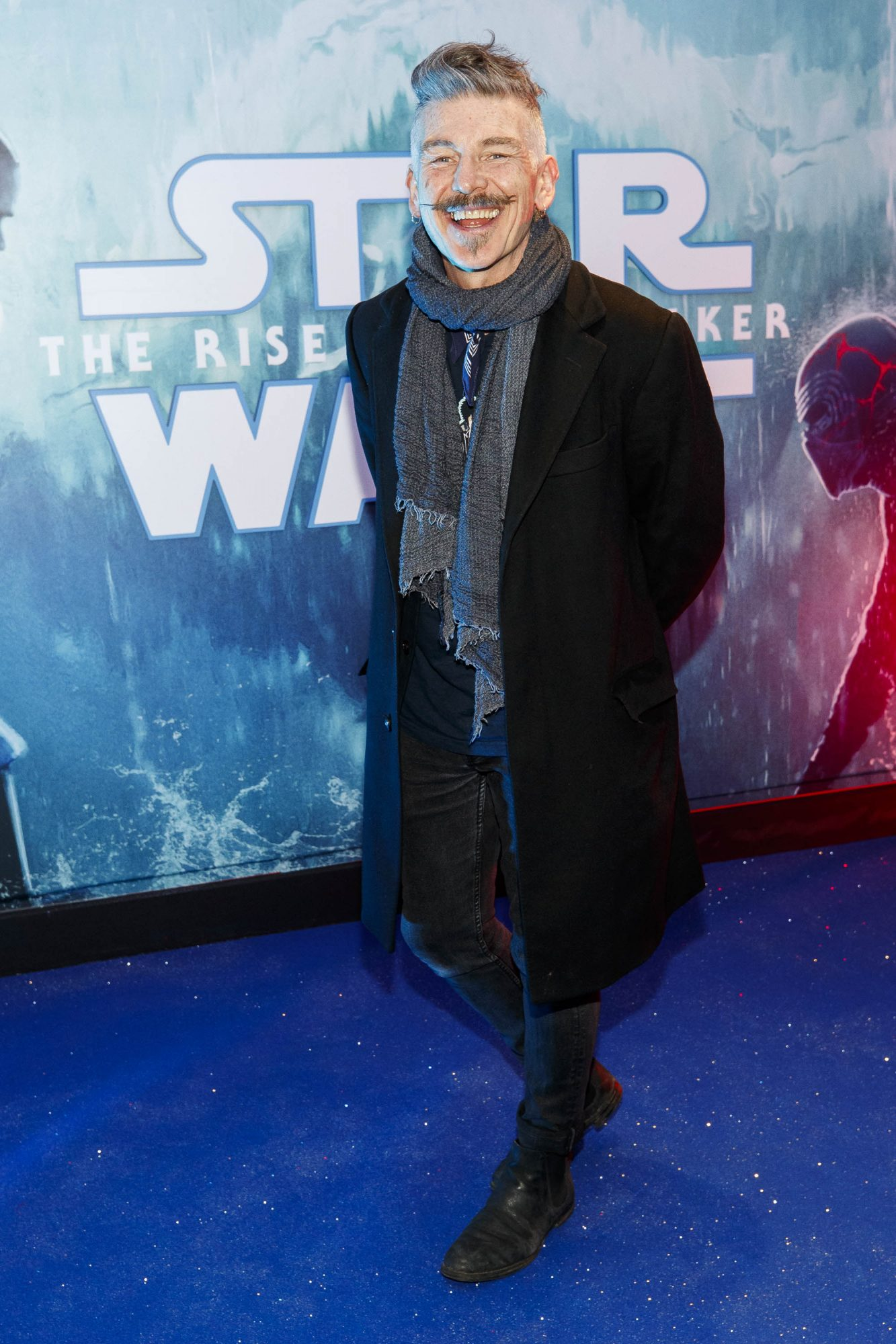 Jerry Fish pictured at the Irish premiere screening of Star Wars: The Rise of Skywalker at Cineworld, Dublin. Picture: Andres Poveda