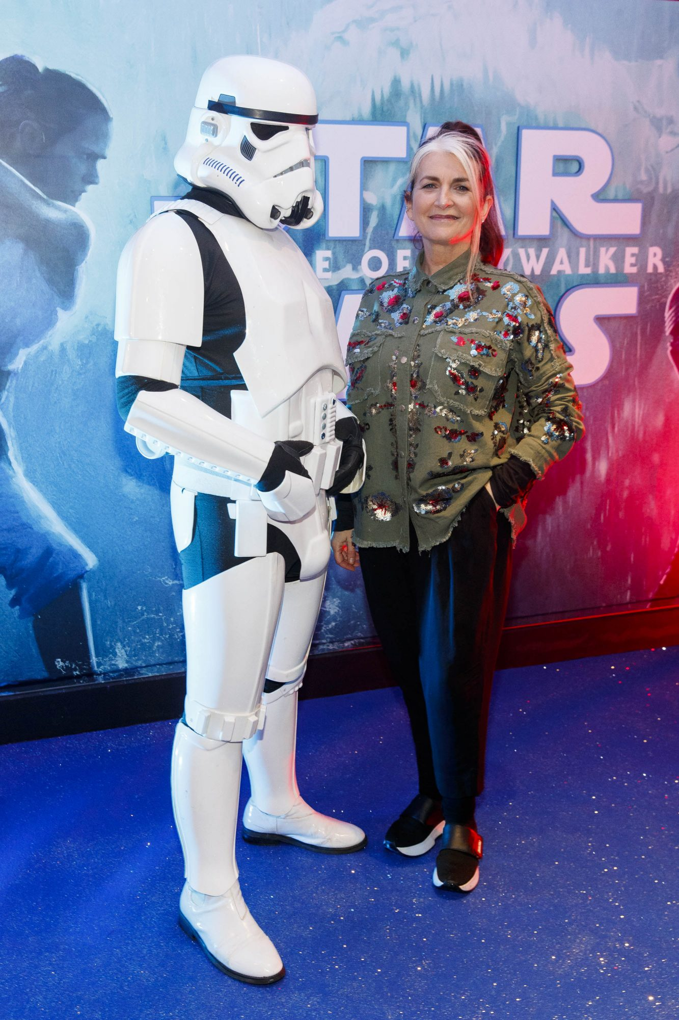 Cathy O'Connor pictured at the Irish premiere screening of Star Wars: The Rise of Skywalker at Cineworld, Dublin. Picture: Andres Poveda