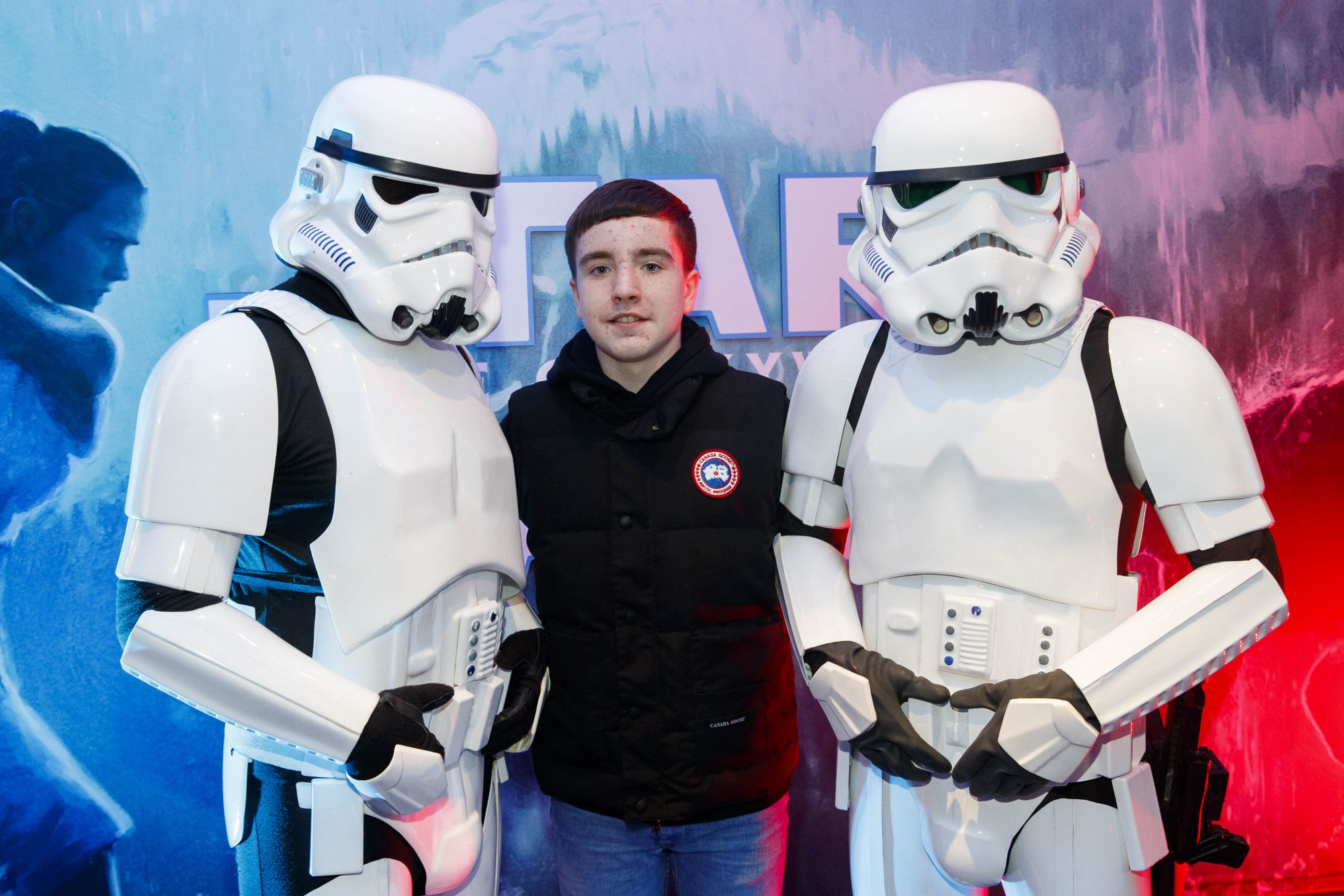 Nate Kelly pictured at the Irish premiere screening of Star Wars: The Rise of Skywalker at Cineworld, Dublin. Picture: Andres Poveda