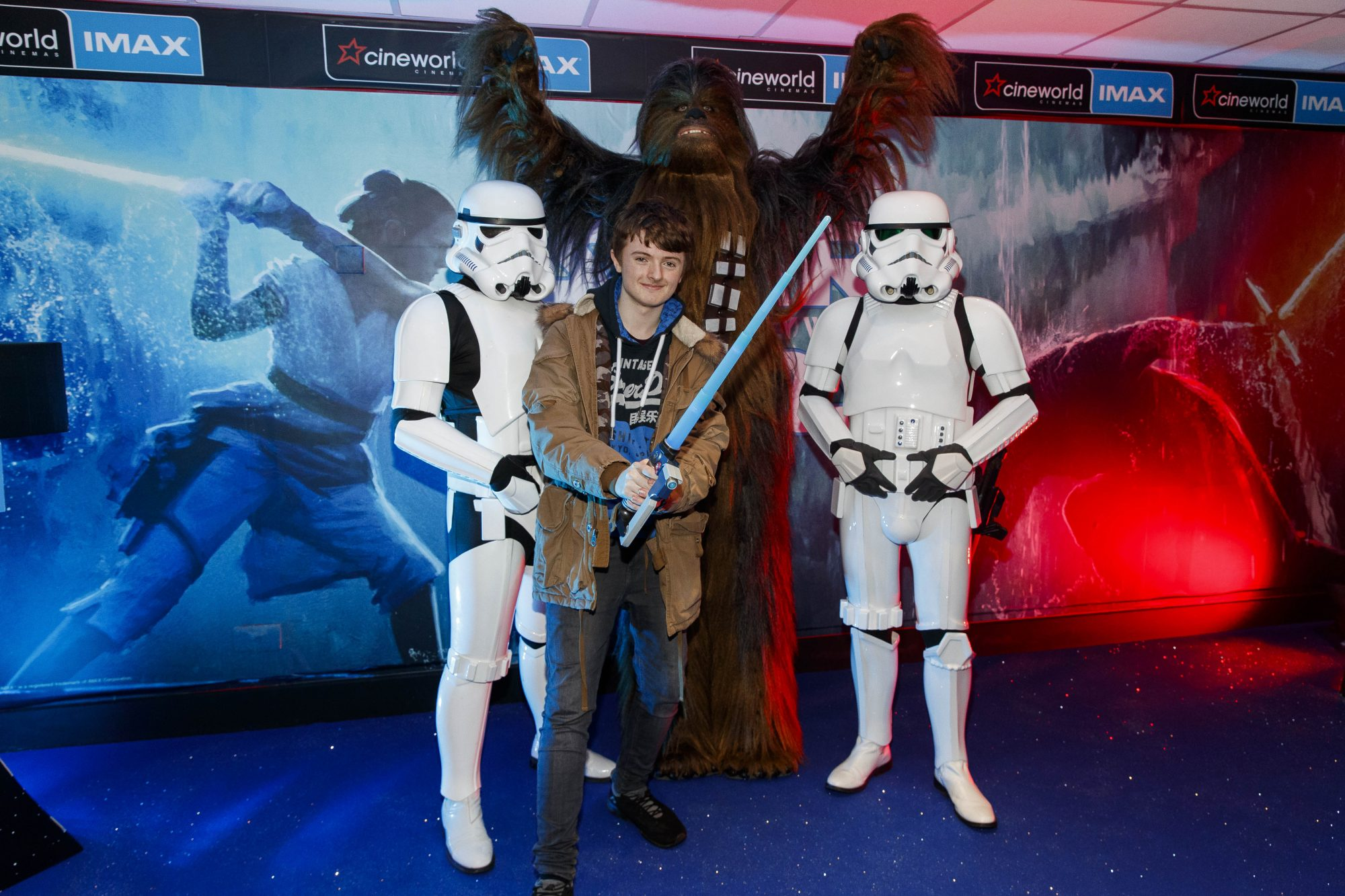 Finn Sweeney (14) pictured at the Irish premiere screening of Star Wars: The Rise of Skywalker at Cineworld, Dublin. Picture: Andres Poveda