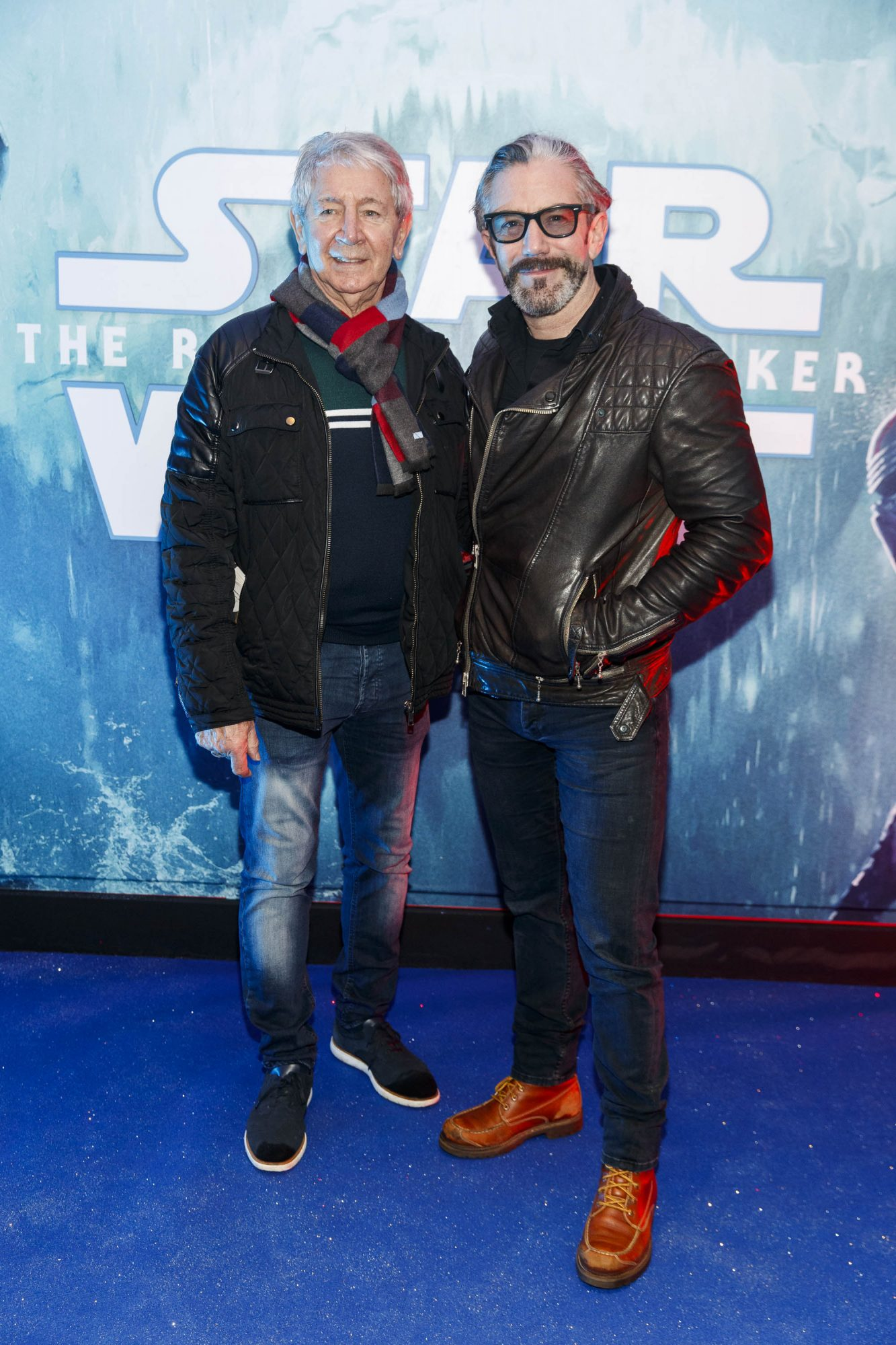 Gary Kabanagh and Mark O'Keefe pictured at the Irish premiere screening of Star Wars: The Rise of Skywalker at Cineworld, Dublin. Picture: Andres Poveda
