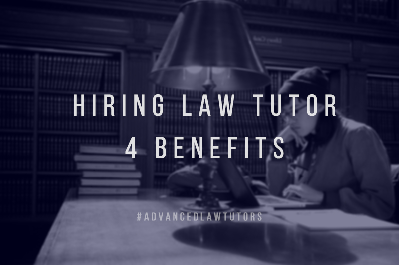 hiring a law tutor