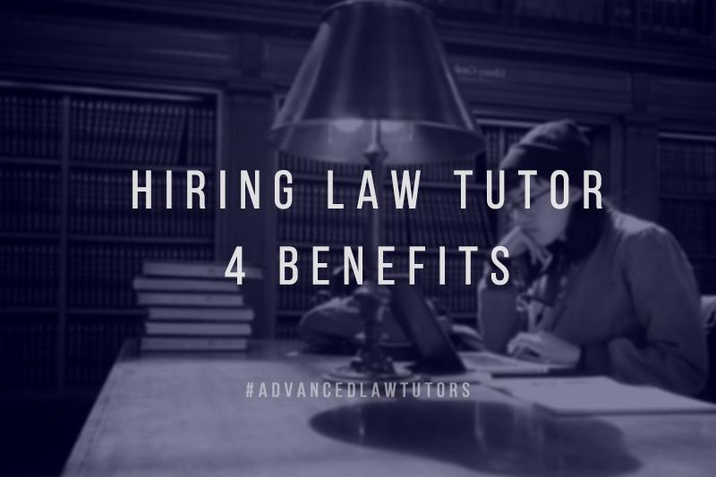 hiring a law tutor