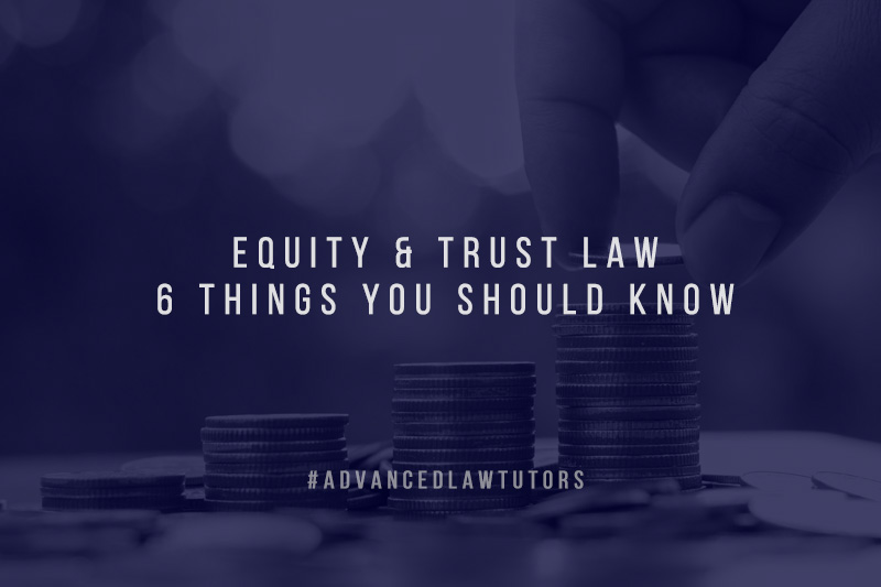 equity and trust law