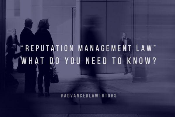 reputation management law