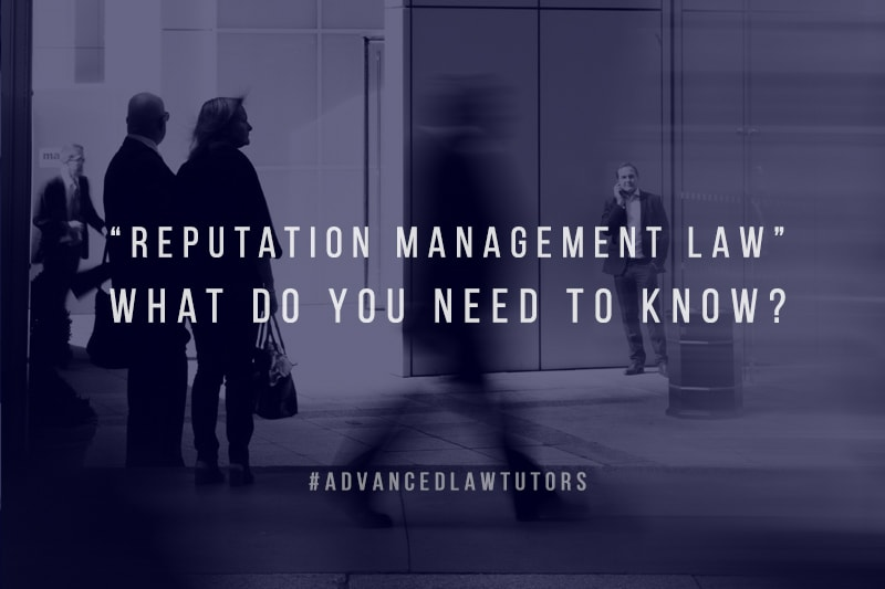 reputation management law