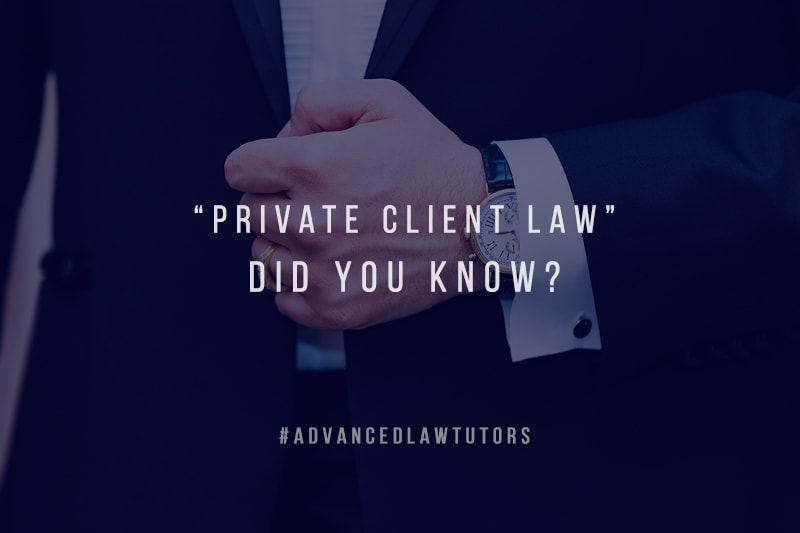private client law