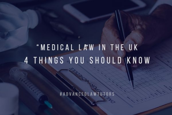 medical law UK