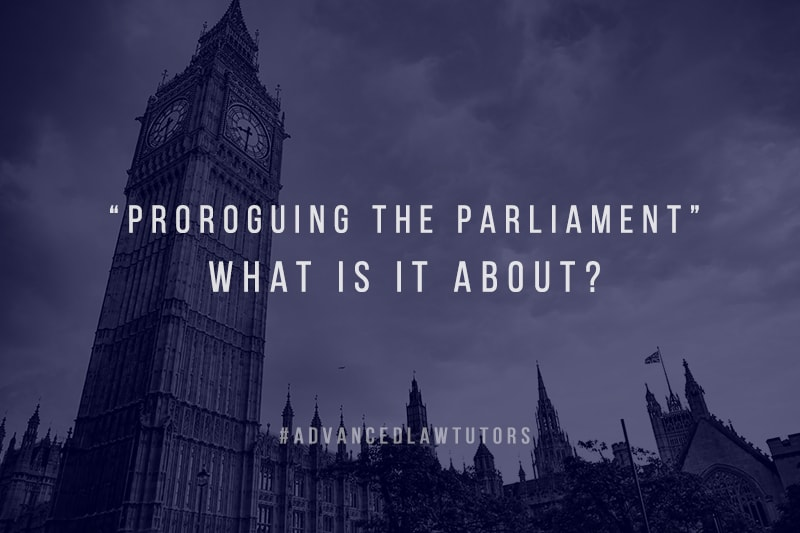 Proroguing the Parliament
