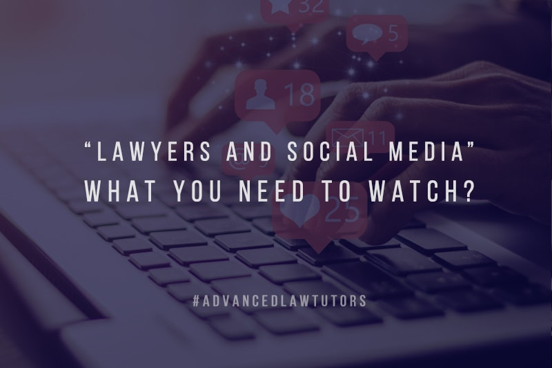 Lawyers and social media