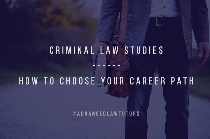 Criminal Law Studies