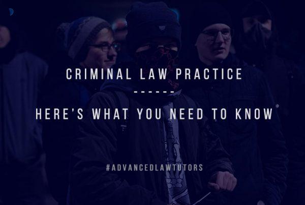 criminal law practice