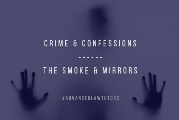 crime and confessions