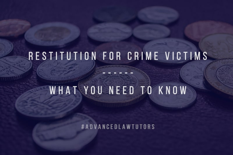Restitution for crime victims