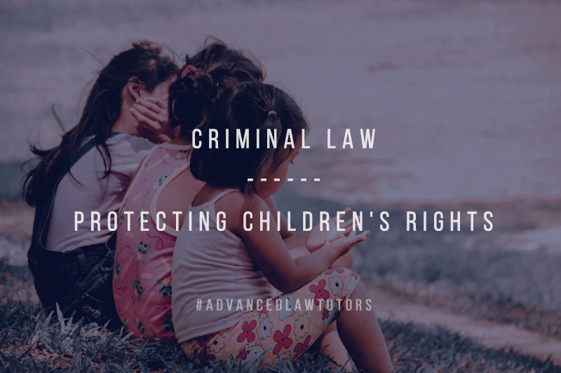 Criminal law protecting children rights