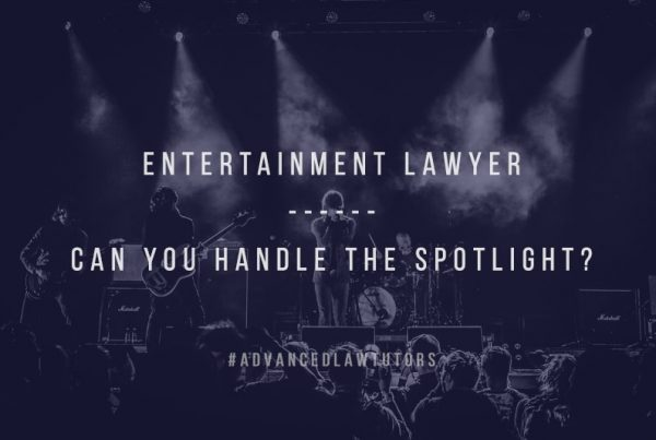 Entertainment lawyer