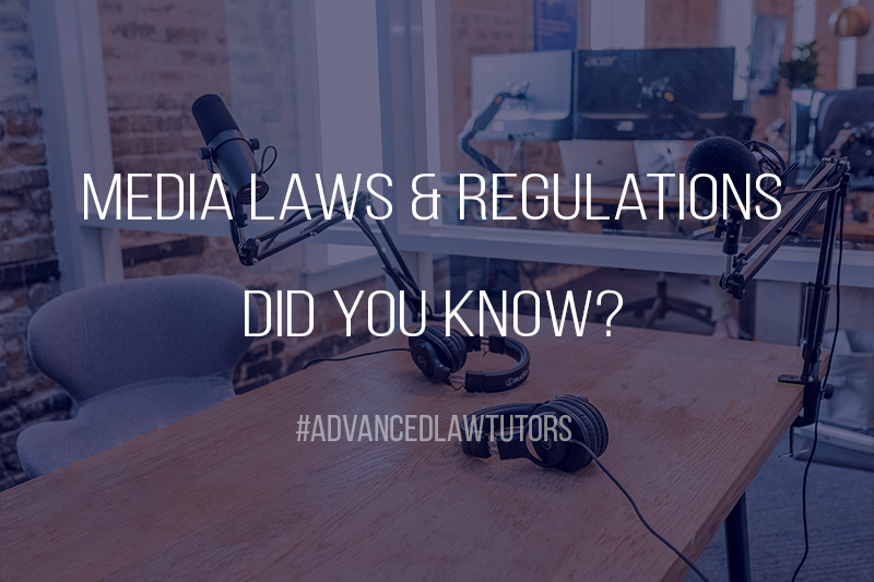 Media Laws & Regulations in The UK