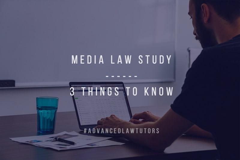 Media Law study