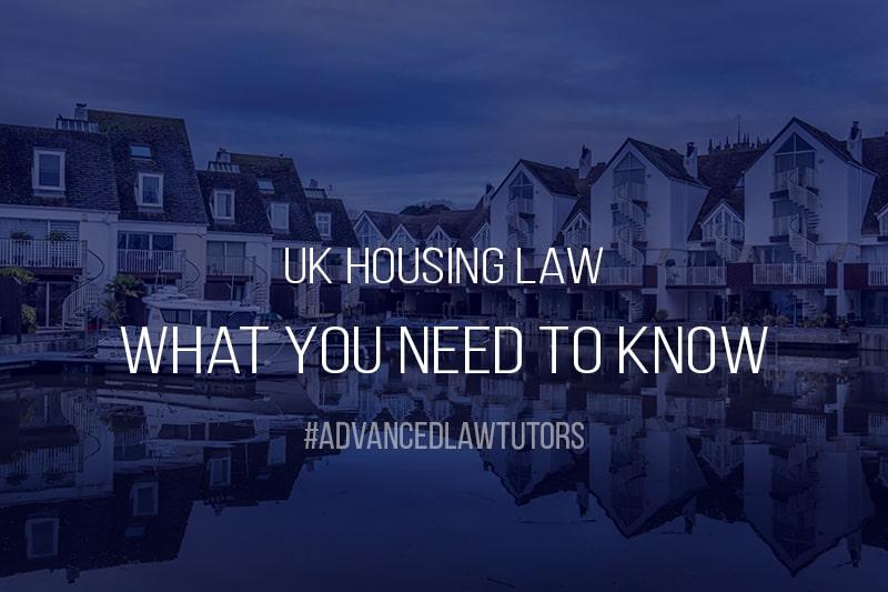 UK Housing Law