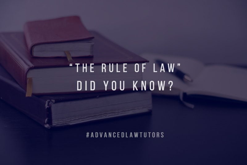 The Rule of Law UK