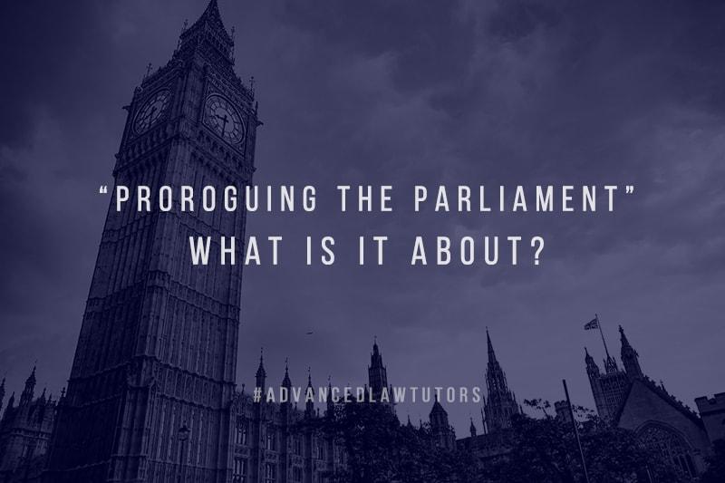 Proroguing Parliament