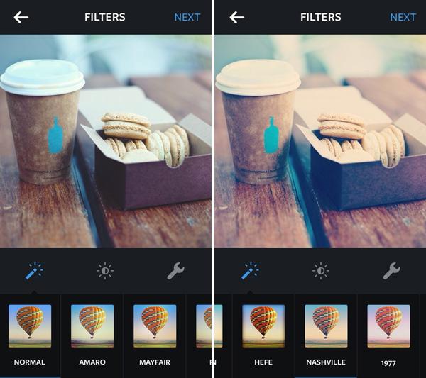 Как сделать фильтры в инстаграм
