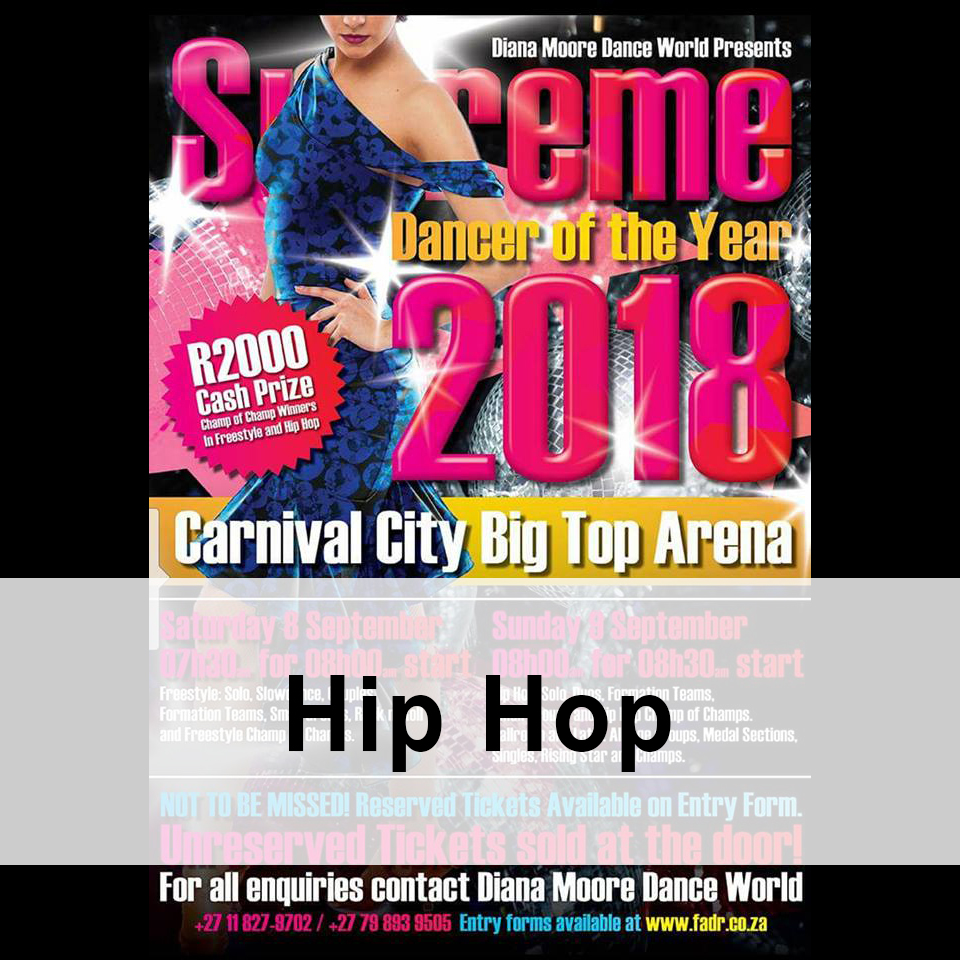 HIP HOP Supreme dancer of the year