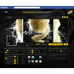 Schweppes profile app 2.0 mainpage