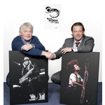 Links directeur north sea jazz jan willem luyken, rechts commercieel directeur nrc martijn standaart