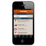 Foodzy iphone app - add food