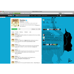 Twitter profile styled by parra