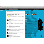 Twitter stream styled by parra