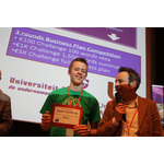 Winner of the best pitch in the february edition of startup weekend eindhoven
