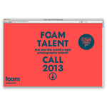 Beeld foam talent call 2
