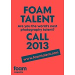 Foam talent call 2013 poster