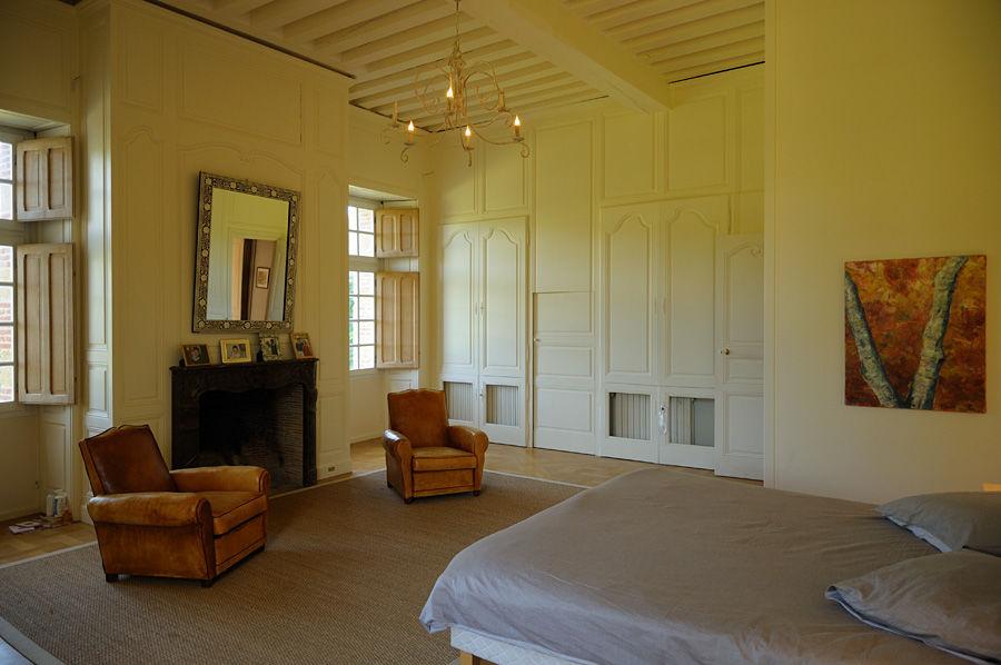 Château de la Cour Senlisse - Chambre