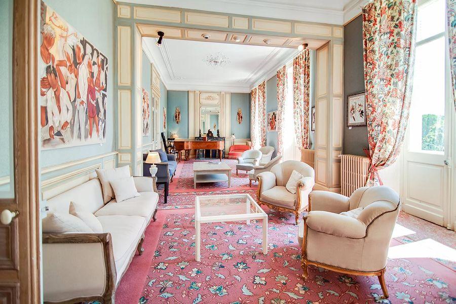 Manoir de la Roseraie - Salon de réception
