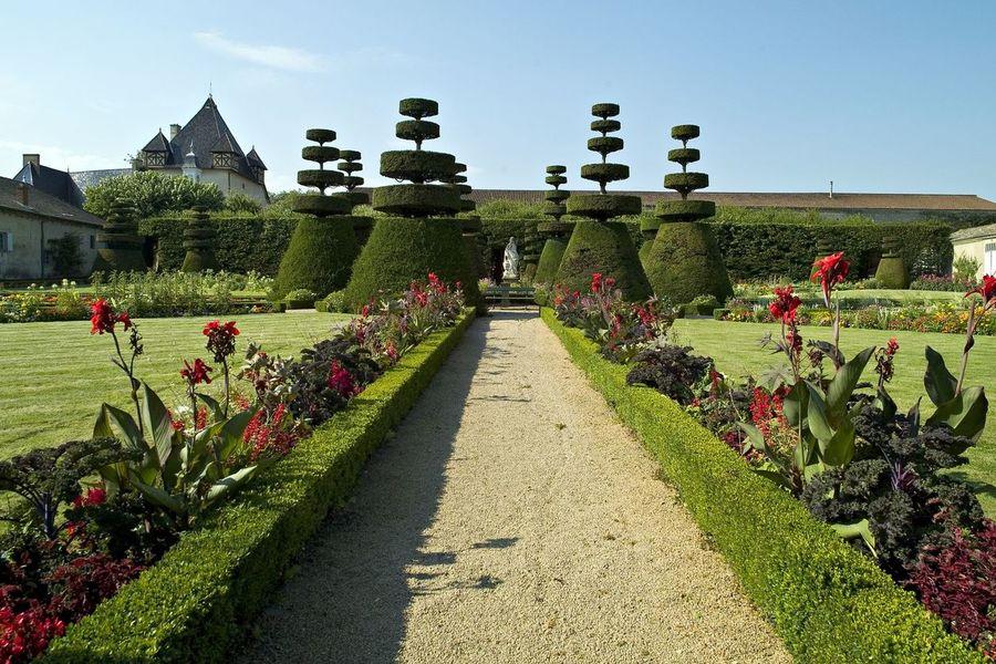 Château de Pizay - Jardins à la Française 2